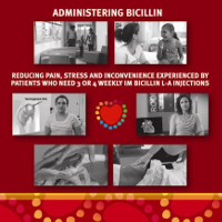 This program is designed for health care workers who care for people with rheumatic heart disease, and especially those who deliver benzathine benzylpenicillin injections. More information is available in the secondary prophylaxis chapter in the 2020 Australian guideline for prevention, diagnosis and management of acute rheumatic fever and rheumatic heart disease, 3rd edition.