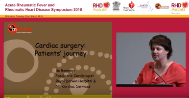 Dr Bo Reményi is a paediatric cardiologist based in Darwin. Here she describes the journey of two children from diagnosis of acute rheumatic fever to rheumatic heart disease and heart valve surgery.