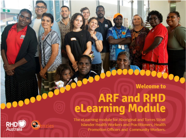 This free e-learning module aims to provide Aboriginal and Torres Strait Islander Health Workers and Aboriginal and Torres Strait Islander Health Practitioners with an understanding of acute rheumatic fever and rheumatic heart disease, and to clarify their role in supporting people along their journey.