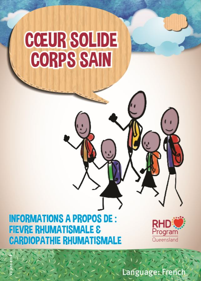 This booklet presented in French, contains information about the signs and symptoms of acute rheumatic fever and rheumatic heart disease, how to manage them, and how to prevent complications.