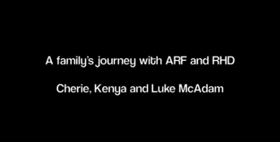 The McAdam family live every day with acute rheumatic fever and rheumatic heart disease.