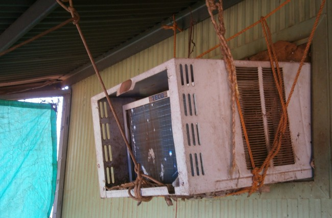 Dilapidated housing equipment in remote Aboriginal and Torres Strait Islander communities