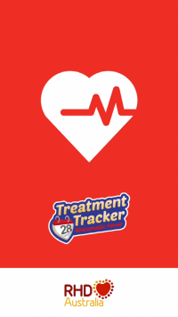 Treatment Tracker is a free mobile phone app designed to support people who receive regular penicillin injections to prevent acute rheumatic fever.