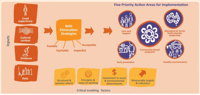 RHD EndGame Strategy - Five priority areas for implementation