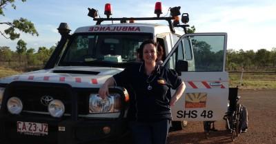 RAN Kisarne Horton serving Ngukurr community