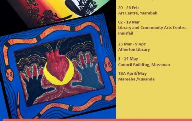 The 'HeART' exhibition features artists from across northern correctional & detention facilities, with works portraying their personal impression of ARF and RHD and how the disease has impacted their families and communities.