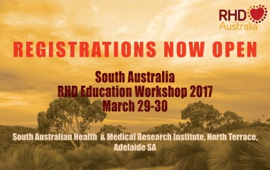 SA RHD Education Workshop - Registrations now open