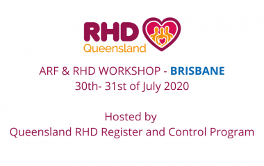 The Queensland RHD Register and Control Program holding a free Acute Rheumatic Fever and Rheumatic Heart Disease workshop