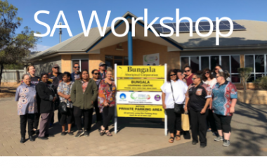 Port Augusta, South Australia 2019 South Australia Aboriginal Health Worker and Practitioner Workshop