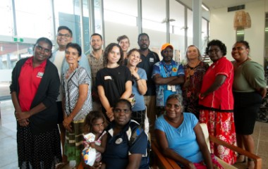 Champions4change at Menzies School of Health Research