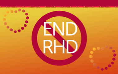 End Rheumatic Heart Disease Sign