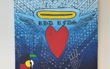 Artwork that reflects the lived experience of acute rheumatic fever and rheumatic heart disease is being displayed at various sites across Queensland in 2020-2021.