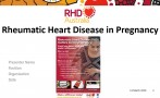 Rheumatic heart disease in pregnancy PowerPoint from the 2020 Australian ARF and RHD guideline