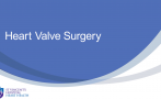 This short animated video includes brief information about the procedures for heart valve repair and heart valve replacement.