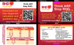These double-sided lanyard cards were designed to assist health professionals to recognise the signs, symptoms and tests related to the diagnosis of acute rheumatic fever.