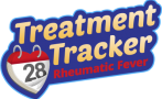 Treatment Tracker is a free smartphone app for people receiving penicillin injections to prevent acute rheumatic fever.