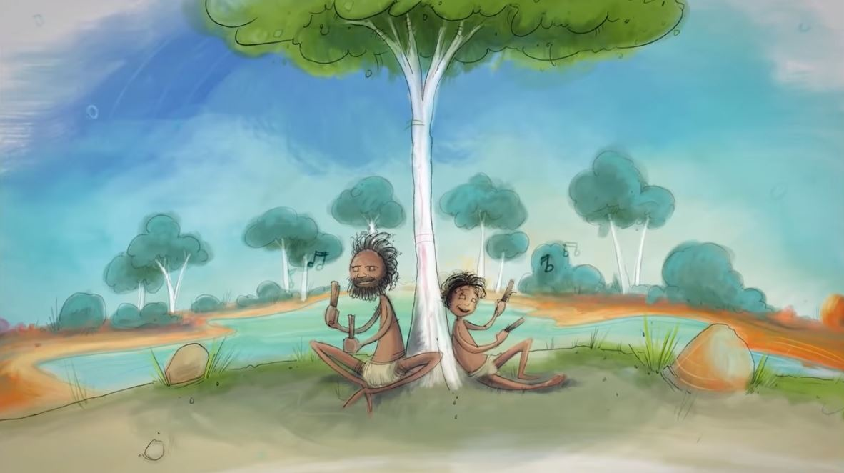 The Journey of Health and Wellbeing animated video helps to promote understanding of Aboriginal people's experience from colonisation to the present day.