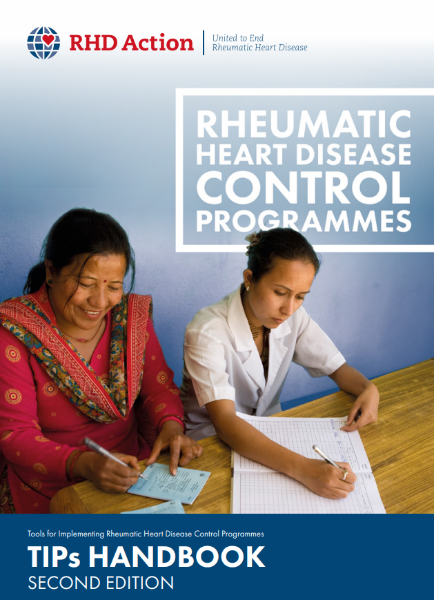 The TIPS Handbook provides a resource for people and places contemplating a rheumatic heart disease control programme.